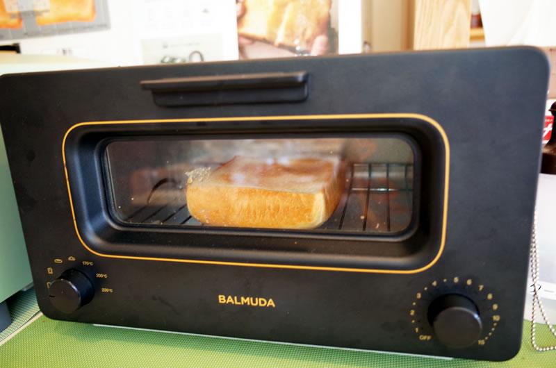 バルミューダで焼くと食パンの味が全然違うの!