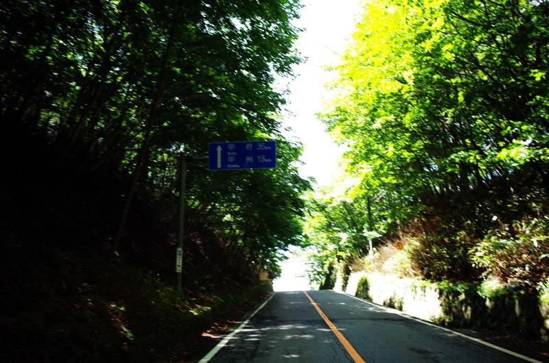 柳沢峠の頂上に到着!