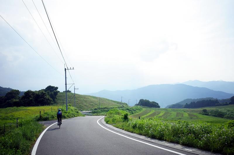 秩父高原牧場へのアプローチがとても良い景色