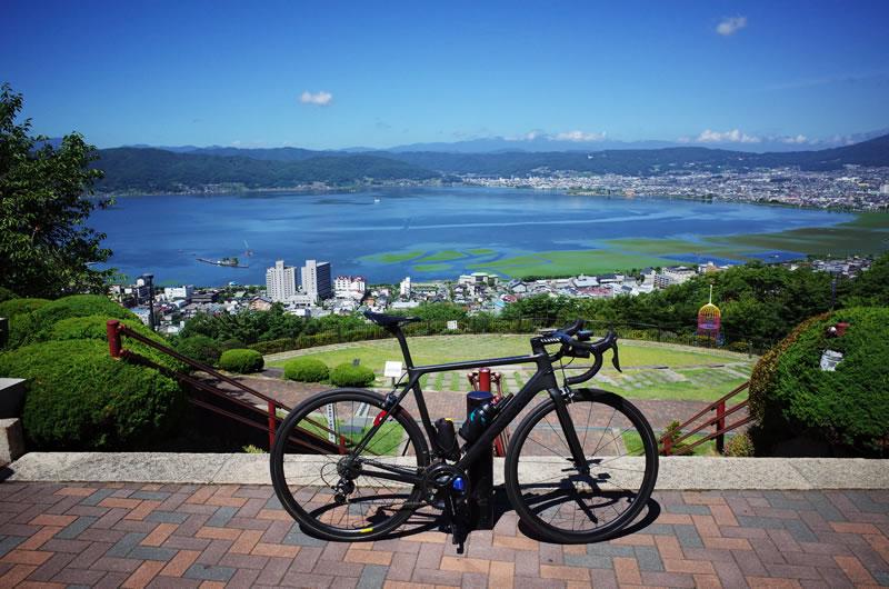 諏訪湖がさらに一望できる絶景スポット