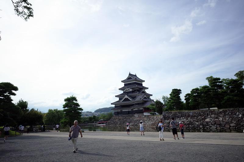 初めて松本城も観た!