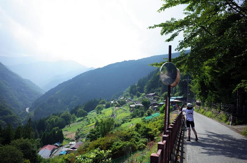 栃本集落の景色が素晴らしかった