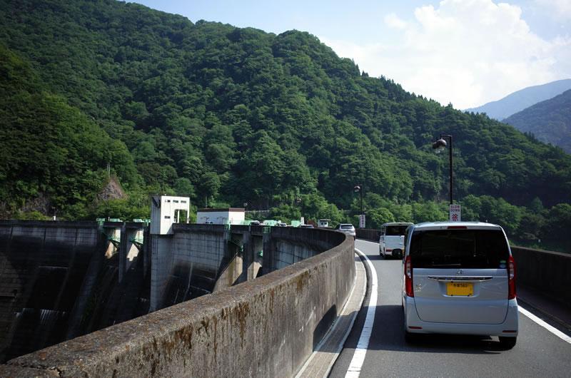 二瀬ダムを越えて三峯神社へ!