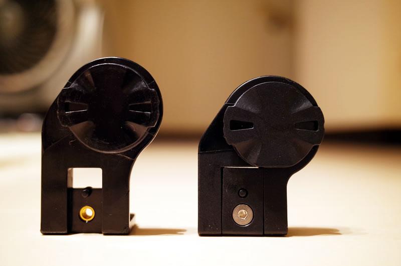 GM-SGX3(左)より短くなったGM-SGX4
