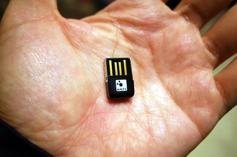 USBのANTスティックがあればInPowerを調整できるらしい(-_-;)