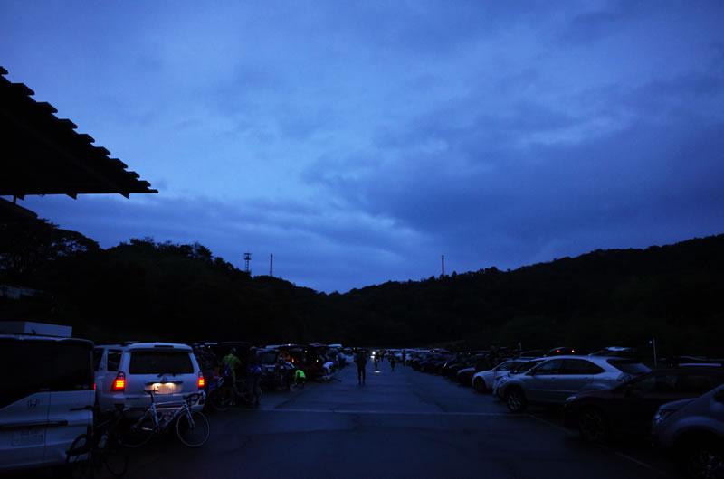 伊豆ヒルの駐車場はCSCの中