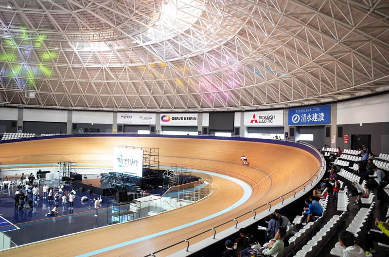 2020年の自転車競技でも会場になるCSCベロドローム