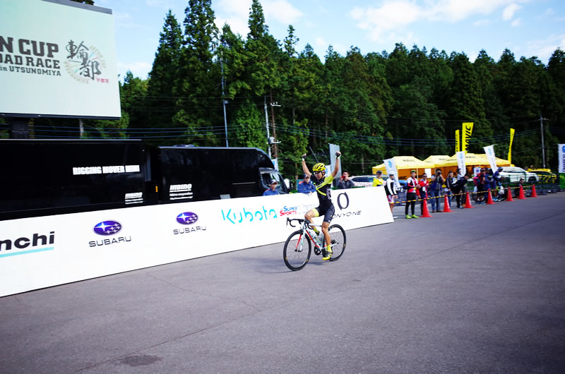 オープンレース1位はベルマーレの選手