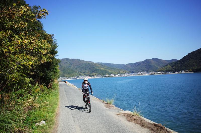 田島のゆったり島時間をロードバイクサイクリング