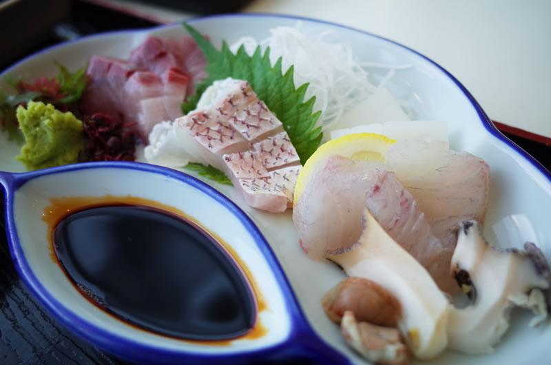 中村屋のお刺身が美味しい!