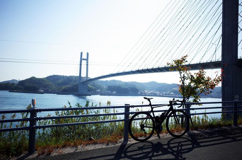 見た目はきれいな生名橋がとても怖い(;´Д`)