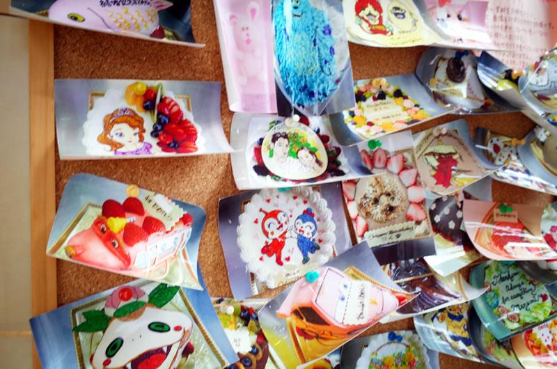 デュボンタンはキャラクターケーキが大人気だった!
