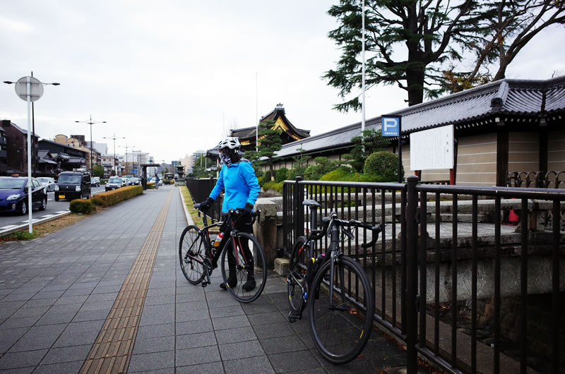 冬の京都の寒さを舐めてた