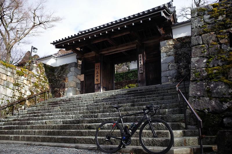 大原三千院で冬の京都ヒルクライムはフィニッシュ!