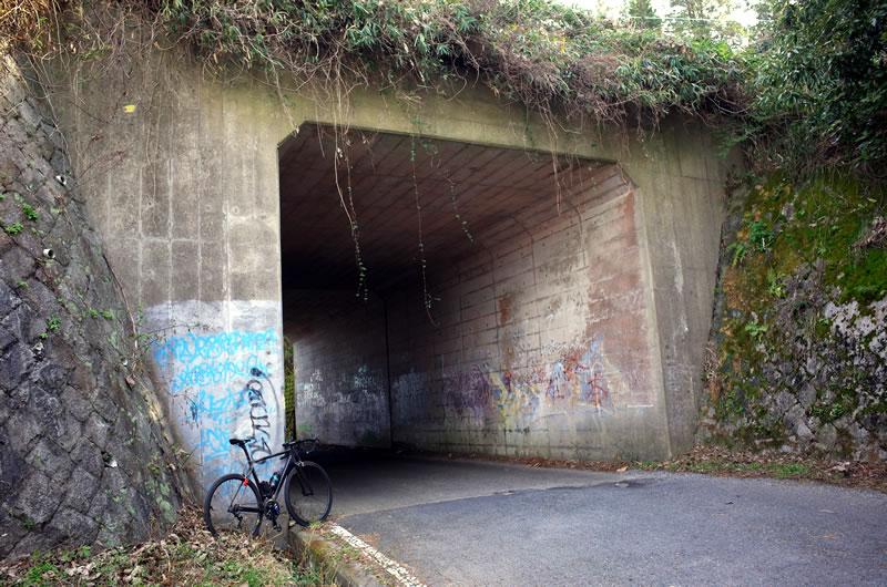 奈良県との県境で十三峠はフィニッシュ!