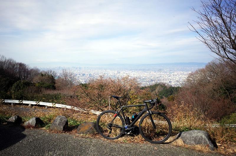 大阪の初ヒルクライムを十三峠で刻む!