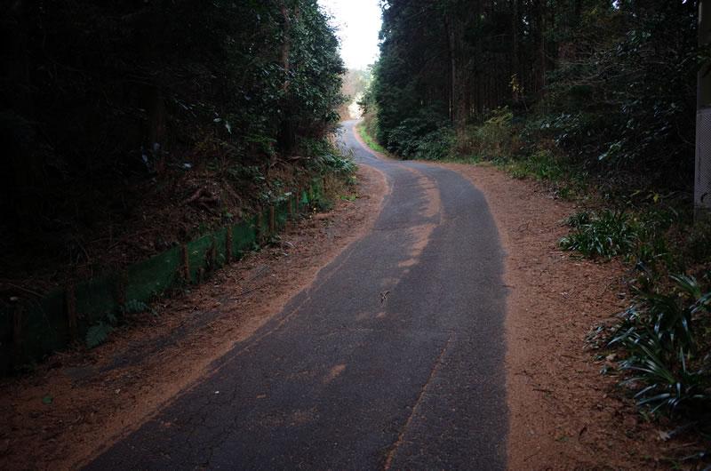 浜石岳の名物2段坂