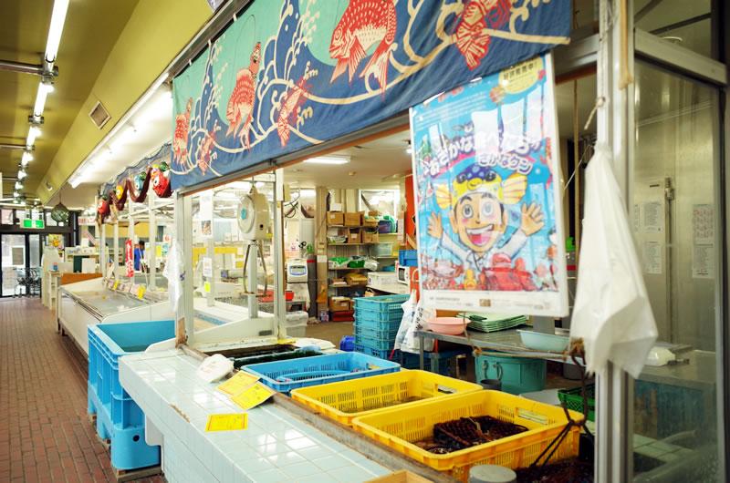 戸田のスーパーでは名産のタカアシガニも普通に売っている