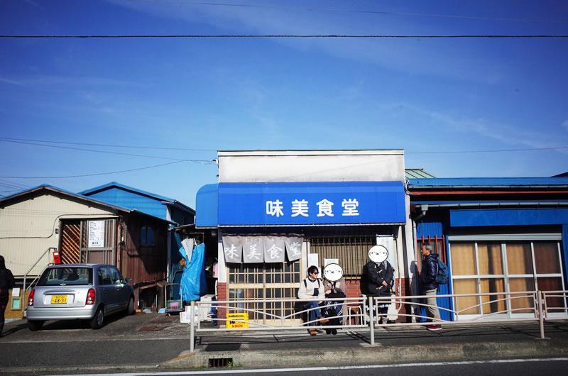 三浦半島の味見食堂にゆるポタ・グルメサイクリング!