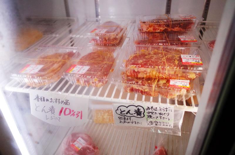 みーとはうすKANEKOは豚肉のみそ漬けが名物
