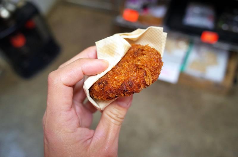 みーとはうすKANEKOのコロッケ、美味しい!!