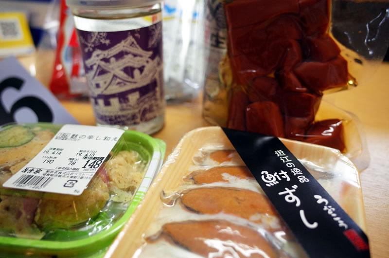 琵琶湖に来たら鮒寿司は外せない!