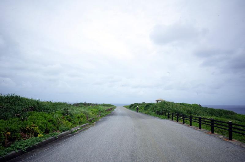見晴らしは最高な伊良部島のヒルクライム