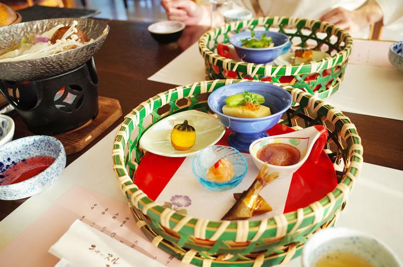キャッスル真名井のディナーも素晴らしい(゚∀゚)!