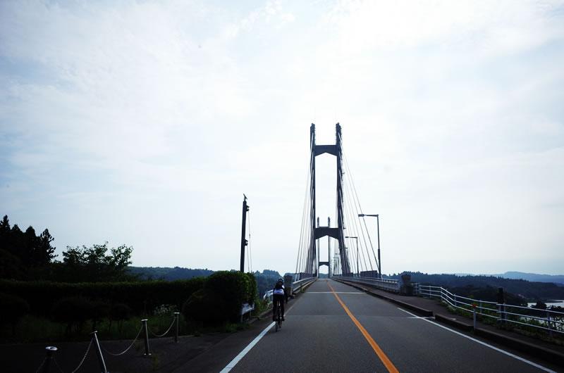 げげげ、能登島って橋で行くんか(@_@;)