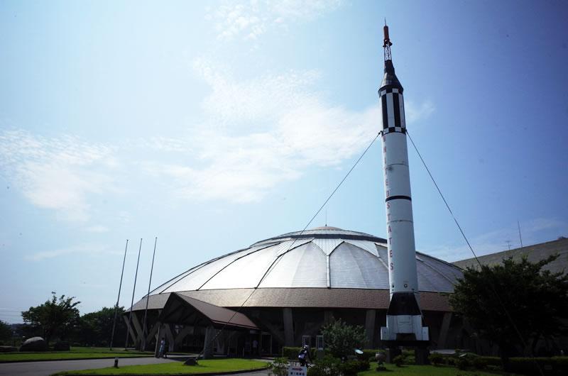 羽咋の宇宙博物館に到着!