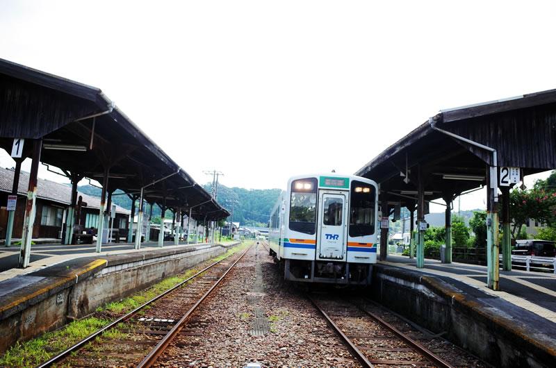 1時間以上遅れて天竜浜名湖鉄道で天竜二俣駅に到着