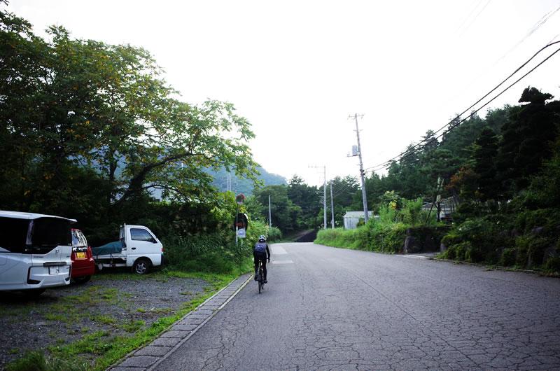林道黒野田線までの上りが超ツラい