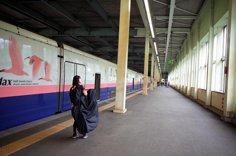 群馬CSCへは上越新幹線が便利
