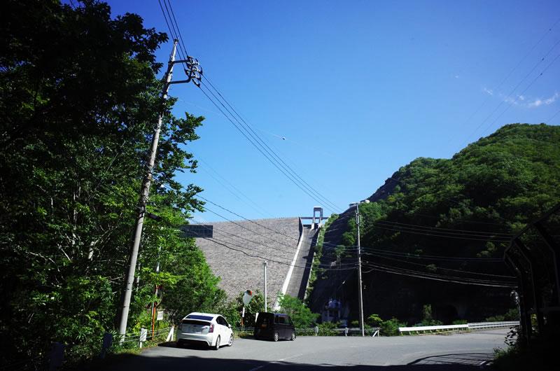 奈良俣ダム。でかいΣ( ̄□ ̄|||)