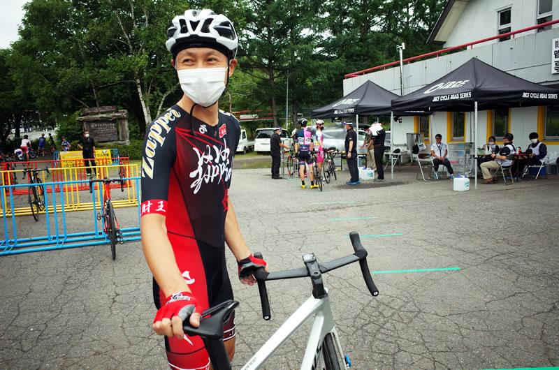 自転車イベントでもマスク着用は必須
