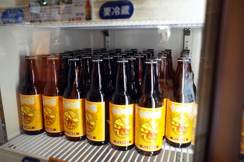 多摩の恵で1998年にビール造りを再開