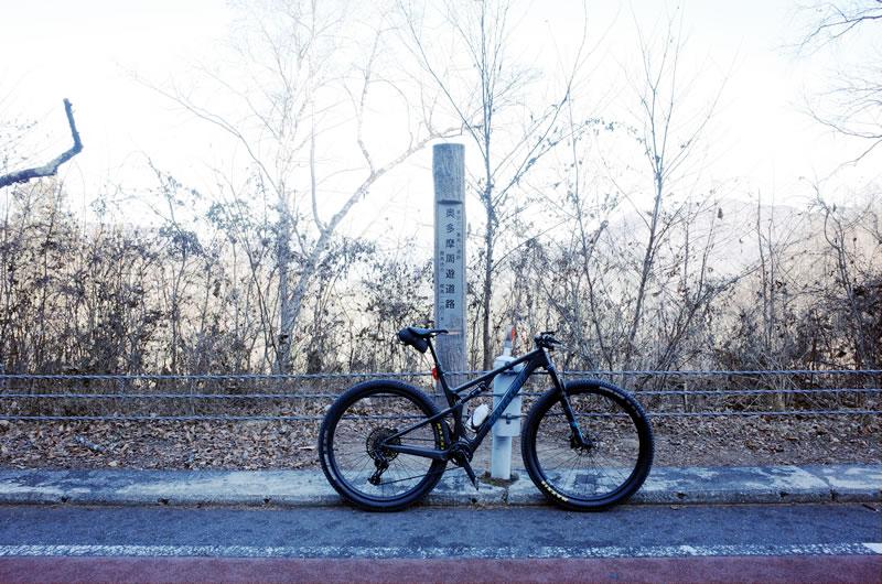 マウンテンバイクで風張峠上ってみた