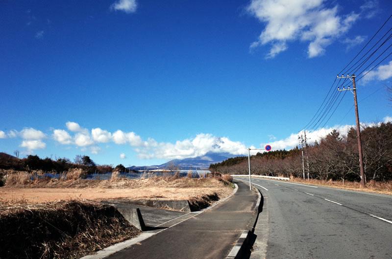 富士山を独り占めできるパノラマロード