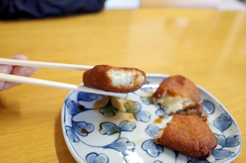 ゼリーフライを食べてみた、美味しい銭の味がする(´_ゝ`)