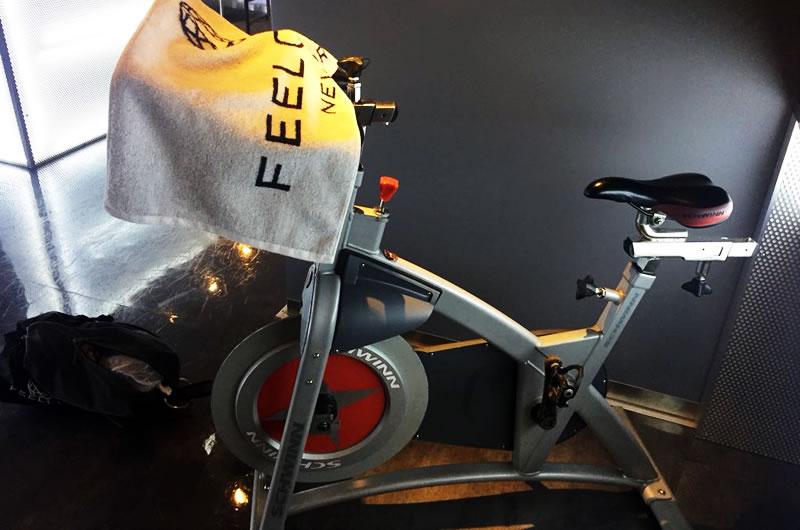 FEELCYCLEで使用するバイク