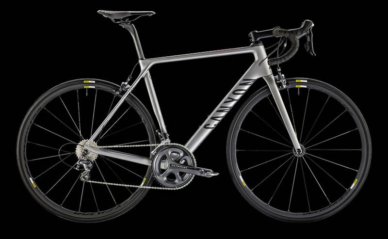 Canyon Ultimate CF SLX 8.0が2016年の最優秀ロードバイクに!