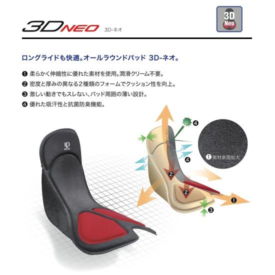 3D-ネオパッドが標準装備