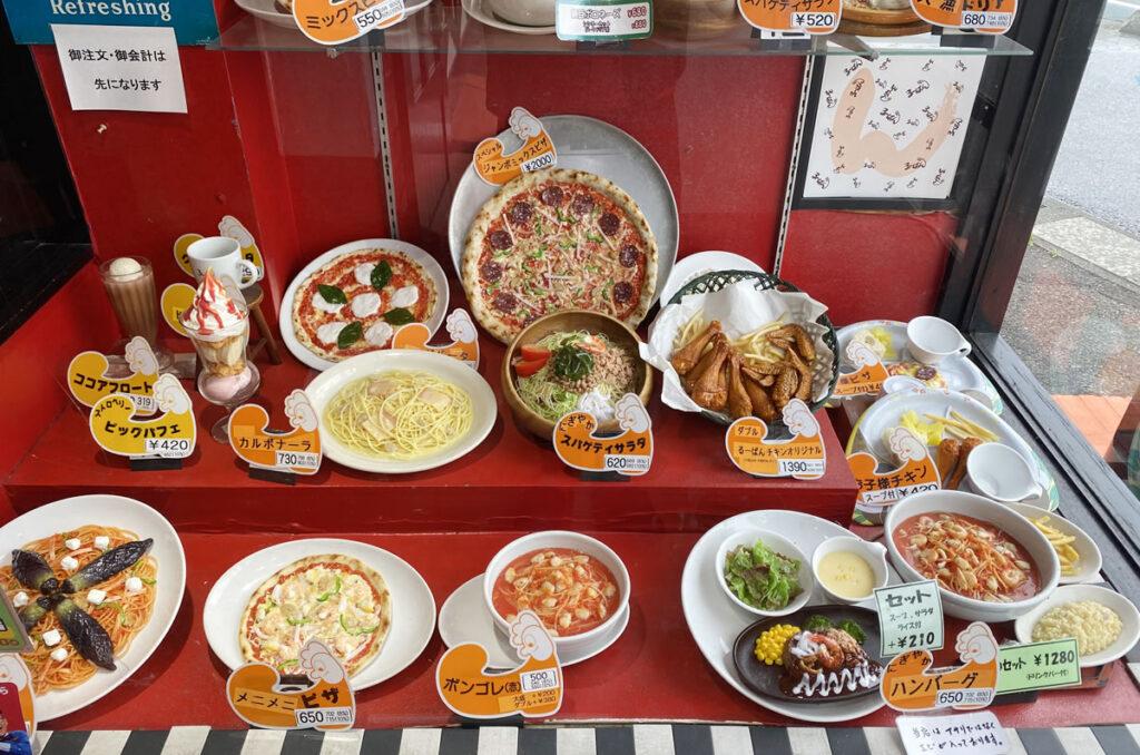 るーぱんはピザとパスタのイタリアンなファミレス
