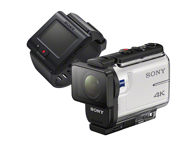SonyのFDR-X3000とHDR-AS300は良さげ