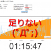 75分254Wじゃ、足りない(´;ω;`)ウゥゥ