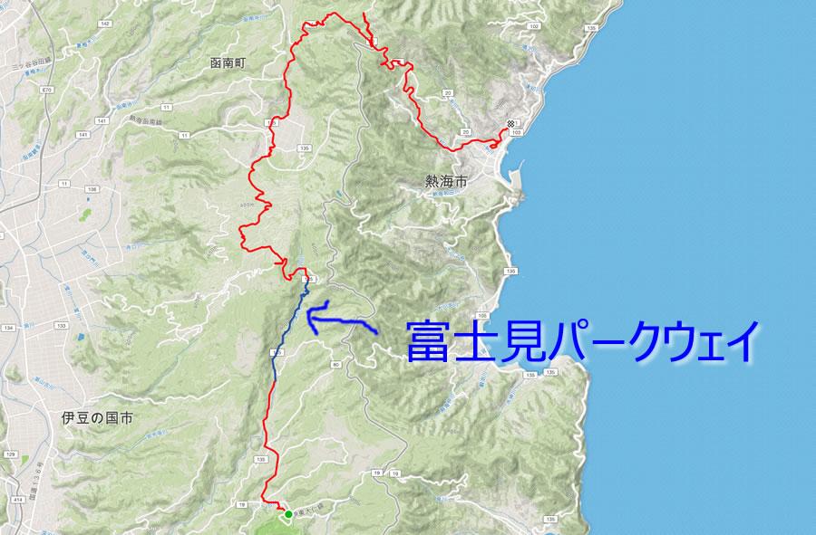 富士見パークウェイというらしい名もなき激坂