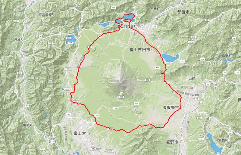 富士山グルッと一周サイクリング合宿