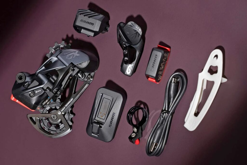 SRAM GX EAGLE AXS一式600ドル(Bike Rumorより)