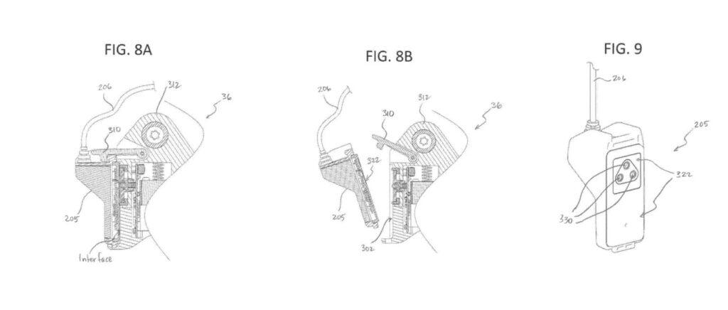 SRAMの「有線」電動ディレイラーの特許
