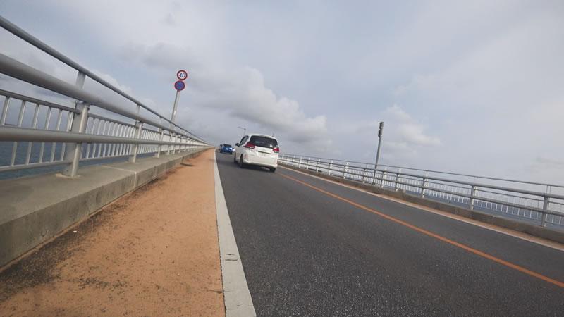 伊良部大橋、歩きました(´_ゝ`)
